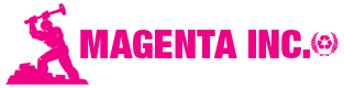 Magenta – Dumpster Rental / Junk Removal Service Logo
